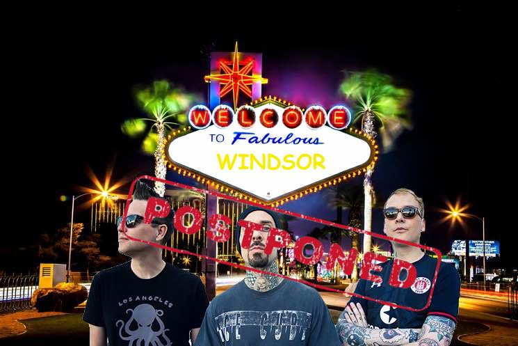 ​Caesars Windsor Postpones Blink-182, Pitbull and Russell Peters Shows Due to Ongoing Strike