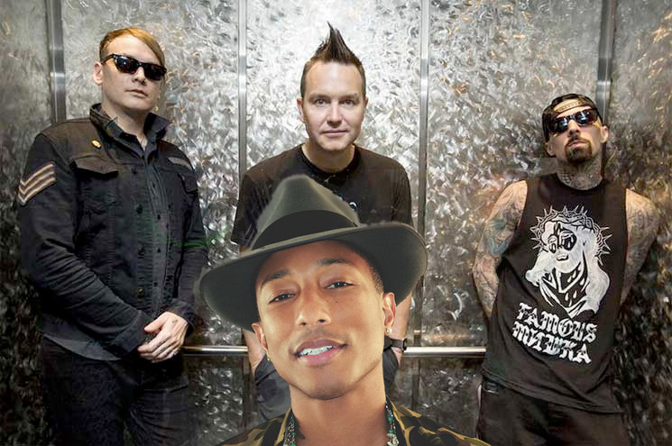 Blink-182 Are Working with Pharrell on Their New Album
