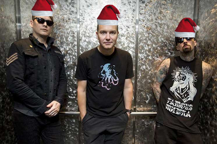 Blink-182 Might Be Putting Out a Christmas Song