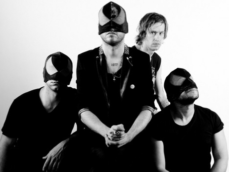 Refused's Dennis Lyxzén Teams Up with Bloody Beetroots for Anvil Cover