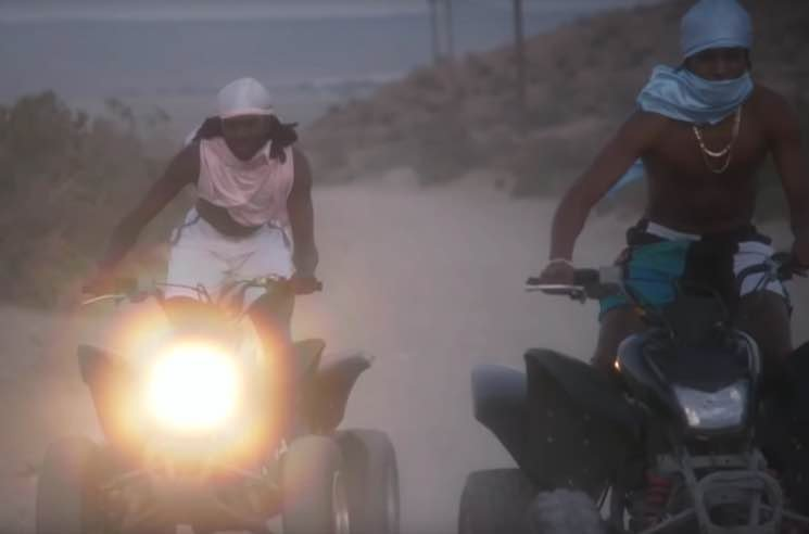 "​Blood Orange and A$AP Rocky Go Nuts on ATVs in ""Chewing Gum"" Video"