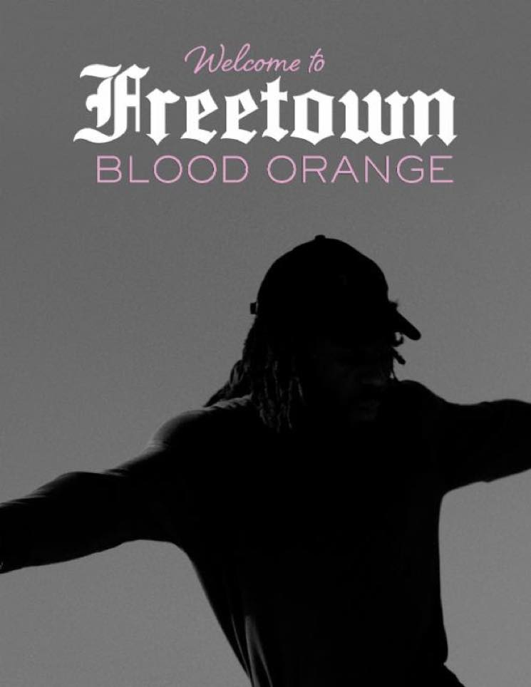 "Blood Orange Reveals ""Welcome to Freetown"" Tour"
