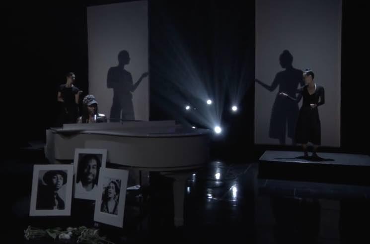 Watch Blood Orange's Emotional Performance on 'Conan'