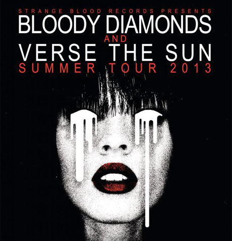 Bloody Diamonds Gear Up for Canadian Tour