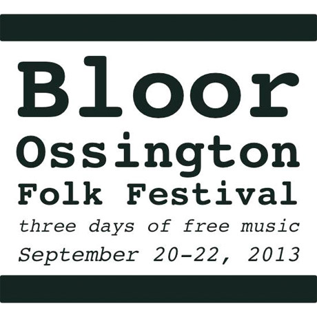 Bloor Ossington Folk Festival Gets Memoryhouse, Pick a Piper, Minotaurs for 2013 Instalment