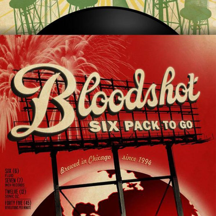 Various Artists Bloodshot 6 Pack to Go: Working Songs for the Drinking Class