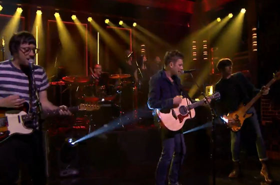 Blur 'Ong Ong' (live on 'Fallon')