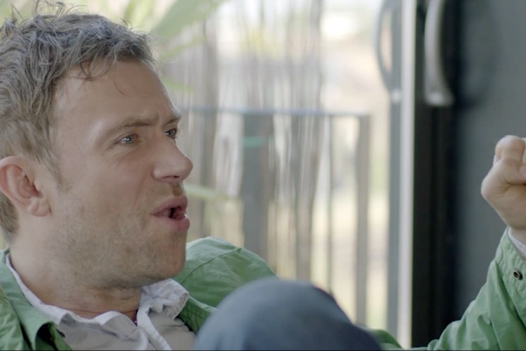Blur 'New World Towers' (documentary clip)