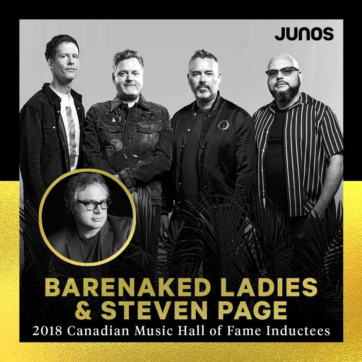 ?Barenaked Ladies to Reunite with Steven Page for Canadian Music Hall  Fame Induction
