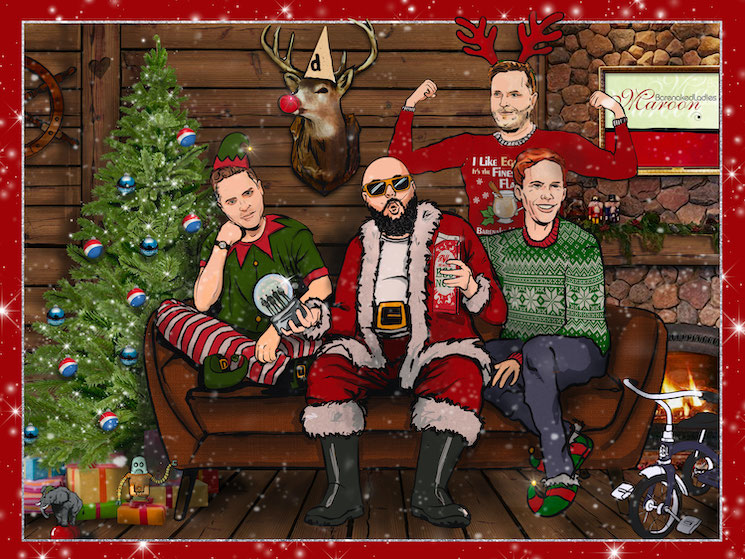 Barenaked Ladies Announce 'A Very Virtual Christmas' Livestream Show
