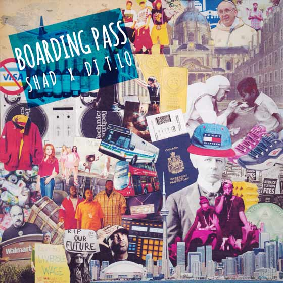 Shad & DJ T.LO Boarding Pass EP