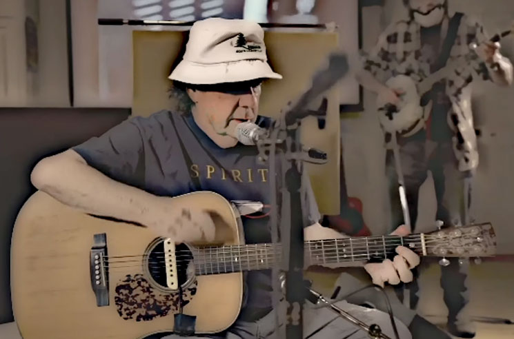 Here's the First-Ever Song from Neil Young's Older Brother Bob Young