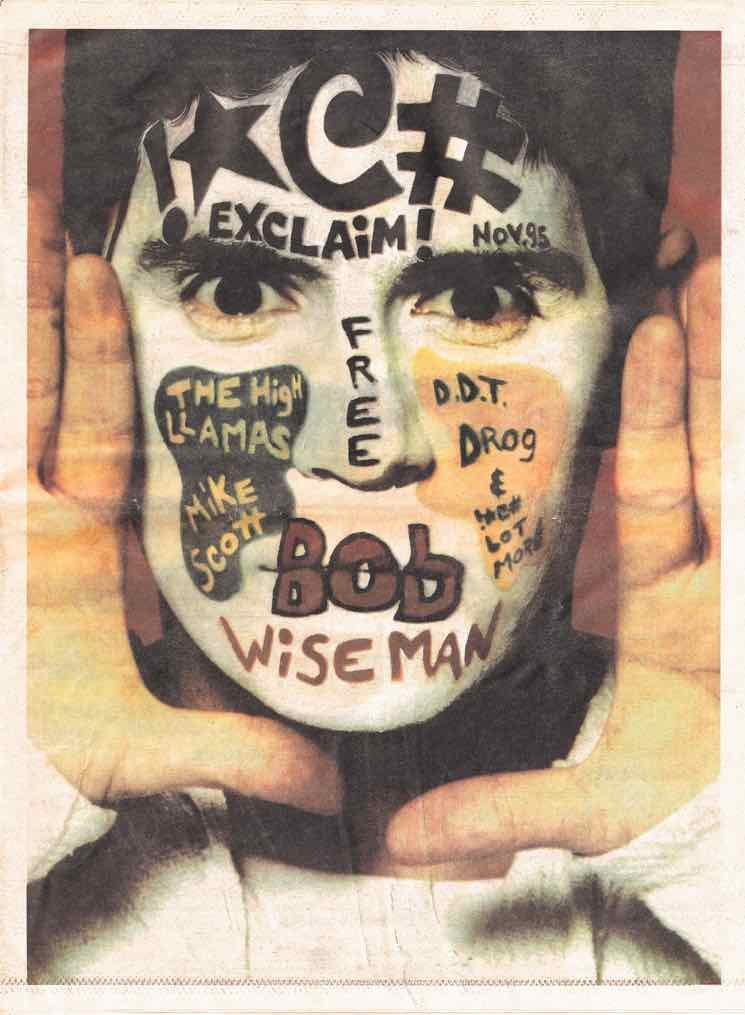 The Cover Was A Face The single photograph Bob Wiseman cover was the culmination of a dream