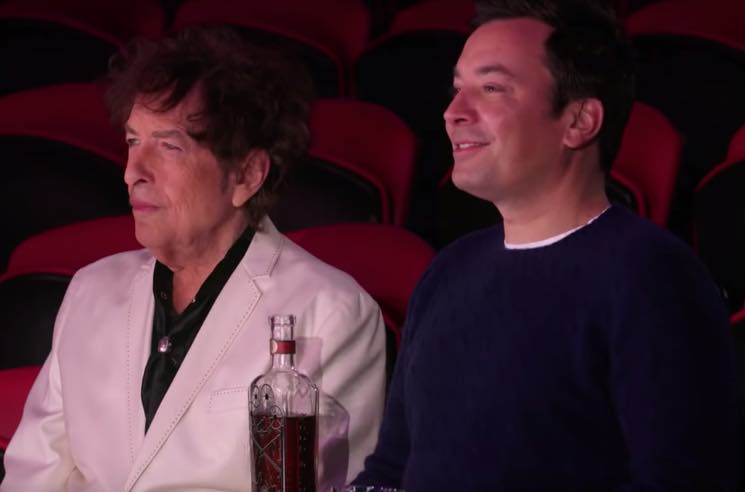 ​Bob Dylan Went to the Circus with Jimmy Fallon to Promote His New Whiskey