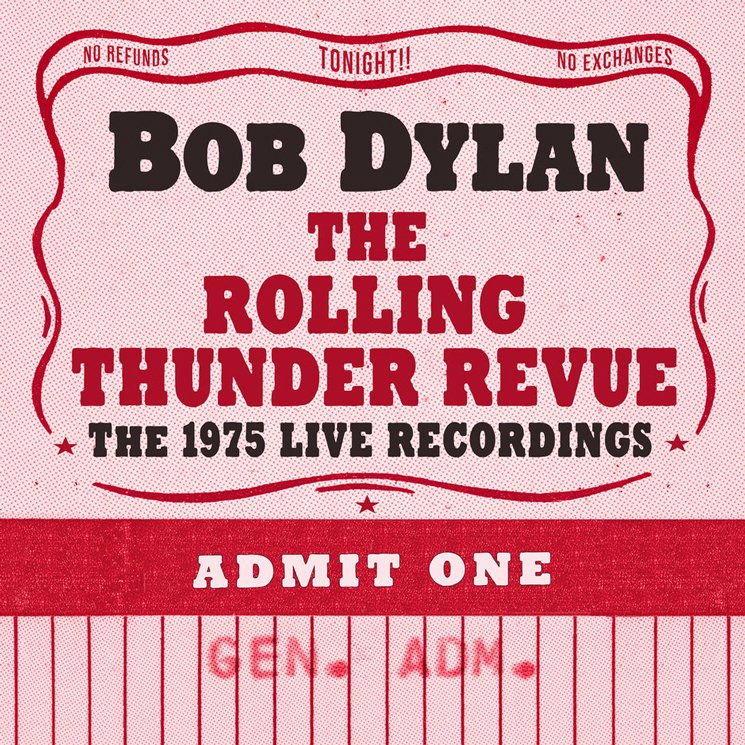 "Bob Dylan Readies Huge ""Rolling Thunder Revue"" Live Box Set"