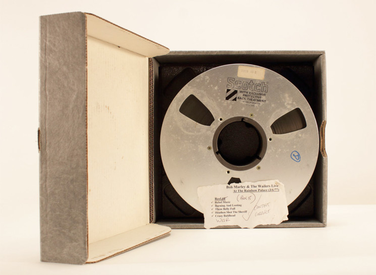 Bob Marley's Long-Lost Live Recordings Captured at Calgary Studio Unearthed