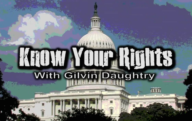 "W/ Bob & David ""Know Your Rights"" (sketch)"