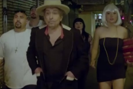 Bob Dylan 'Duquesne Whistle' (video)