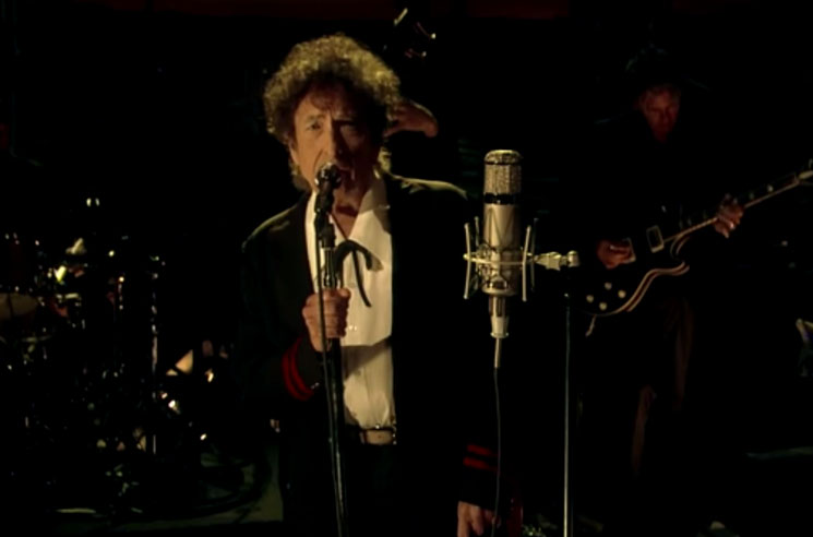 "Bob Dylan ""The Night We Called It a Day"" (live on 'Letterman')"