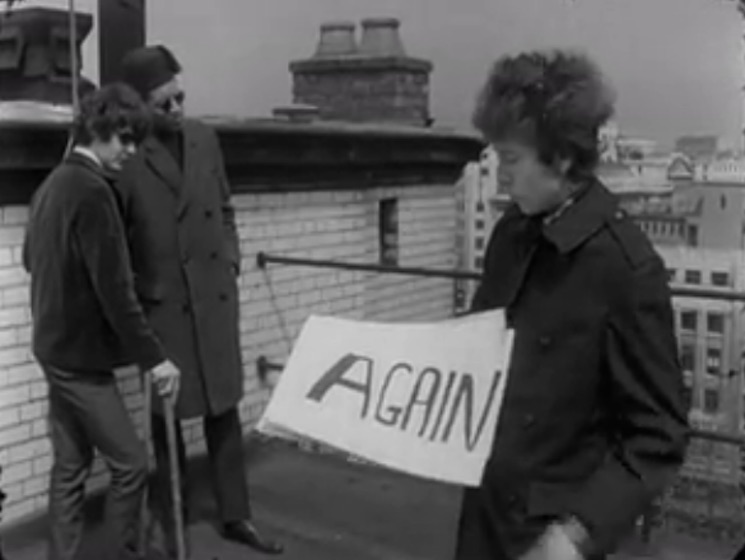 "Bob Dylan ""Subterranean Homesick Blues"" (alternate version) (video)"