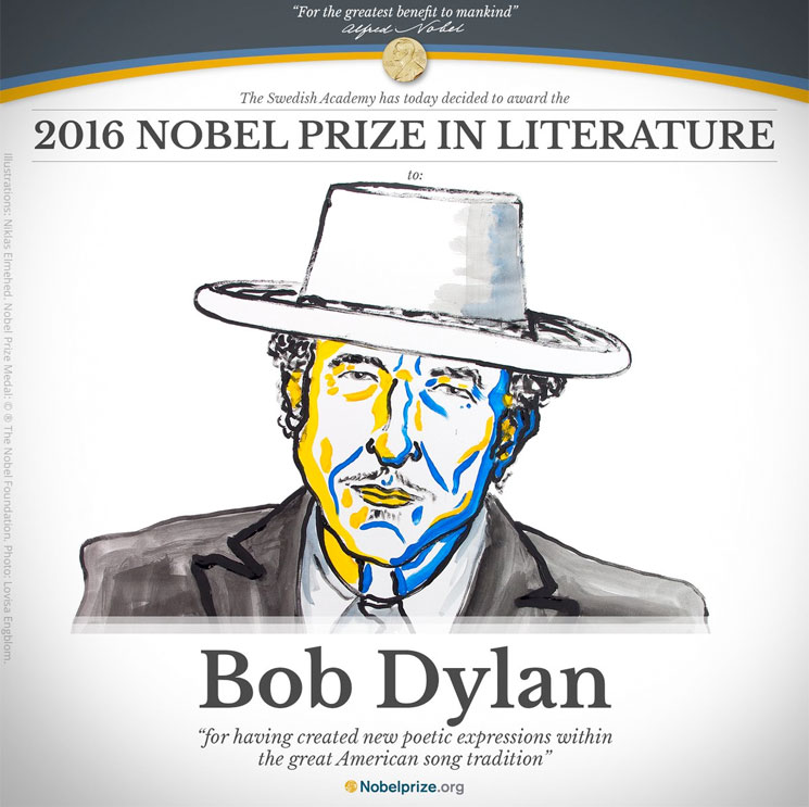 Bob Dylan Will Finally Accept His Nobel Prize This Weekend