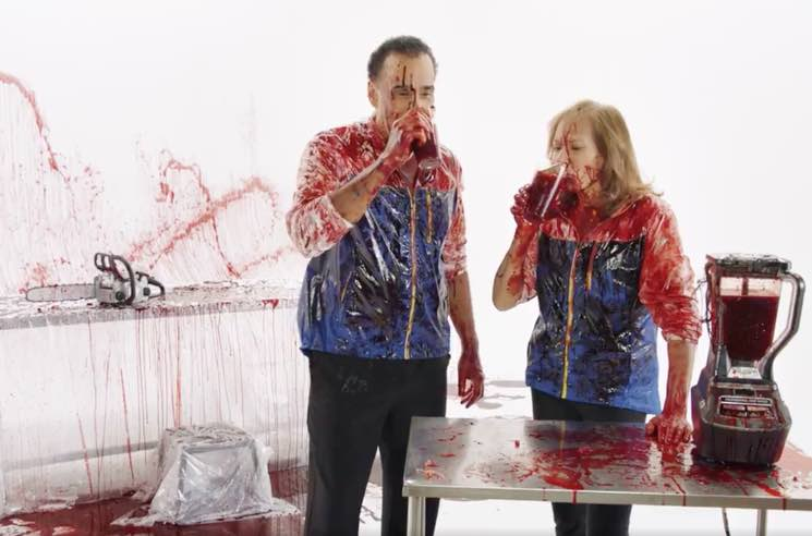 ​Hal and Joanne from 'Body Break' Get Bloody in Super Canadian 'Santa Clarita Diet' Netflix Ad