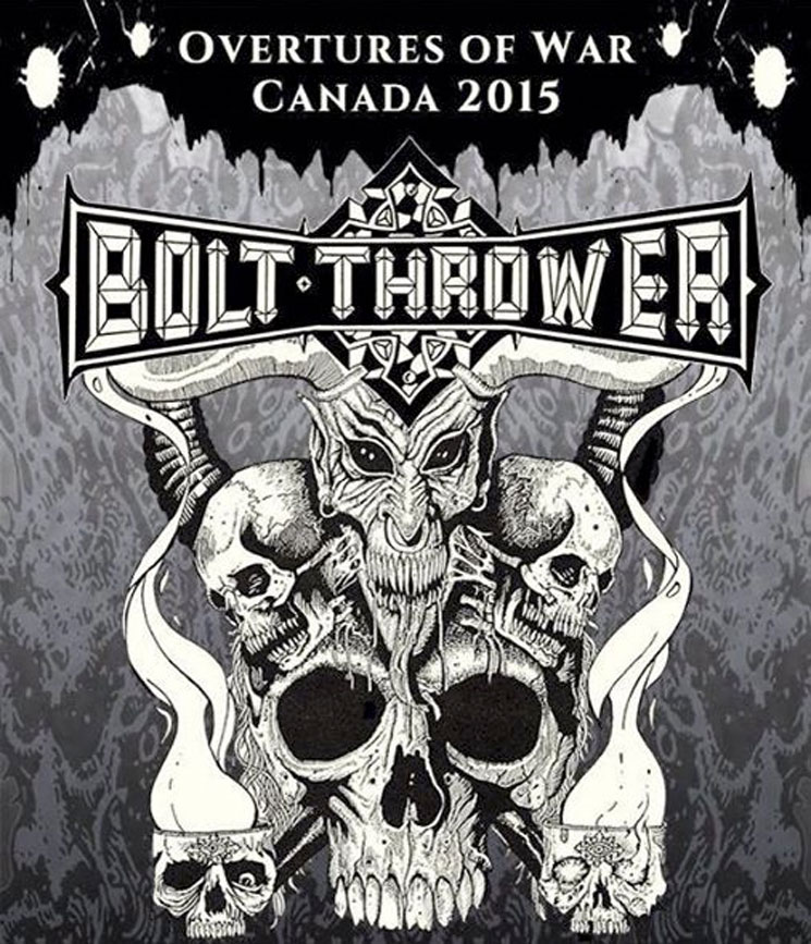 Bolt Thrower Map Out Canadian Tour Dates