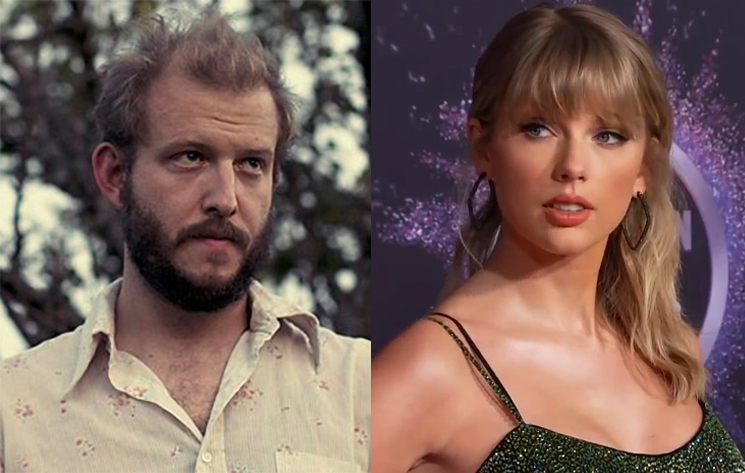 Bon Iver's Justin Vernon Is Teasing Another New Song with Taylor Swift