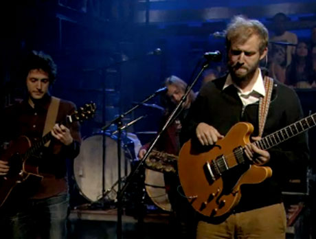 "Bon Iver ""Holocene"" (live on 'Fallon')"