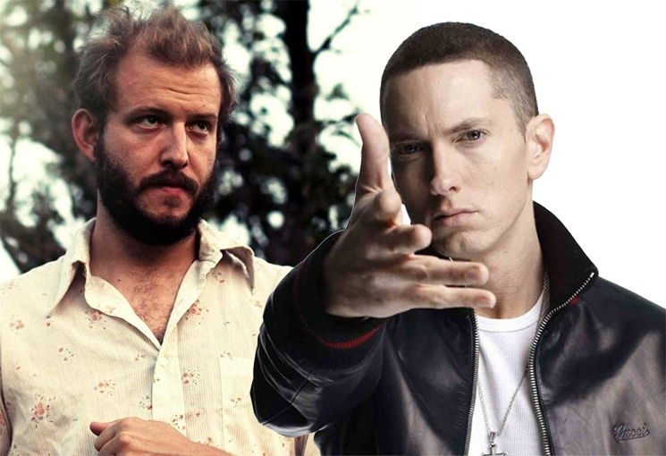 "Bon Iver's Justin Vernon Says He's ""Not a Fan"" of His Eminem Collaboration"