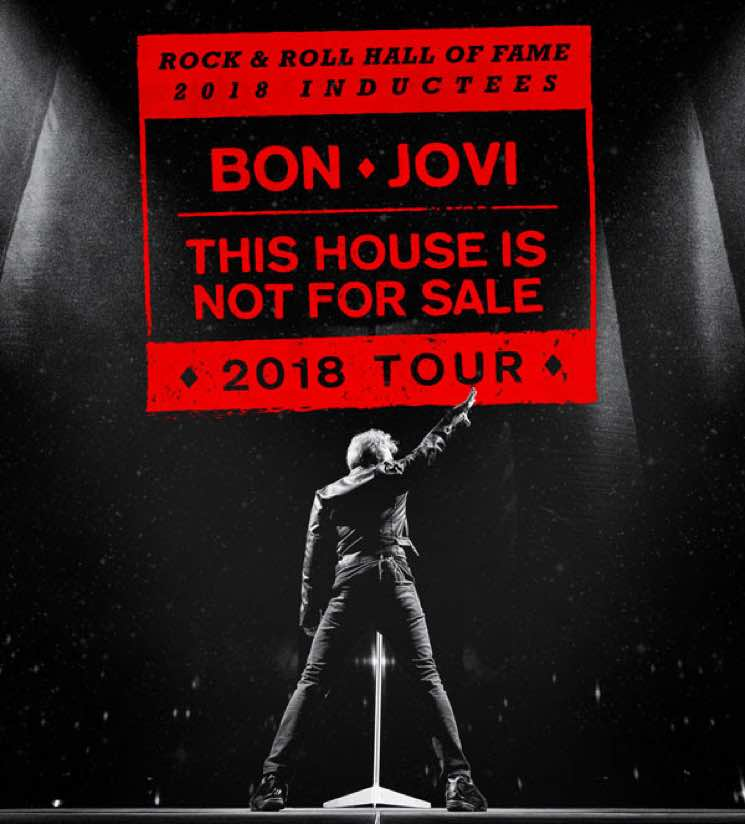 ​Bon Jovi Postpone Montreal Concerts Due to Illness