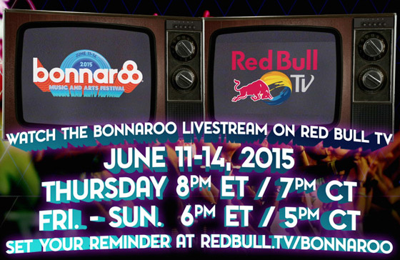 Watch Red Bull TV's Bonnaroo Live Stream Starting This Thursday