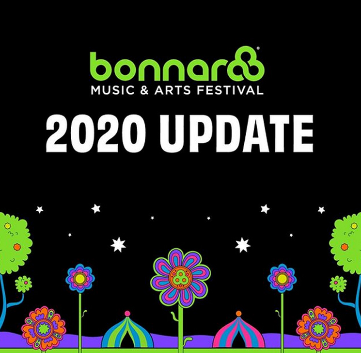 Bonnaroo's 2020 Festival Is Officially Cancelled