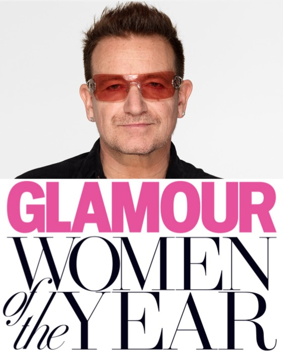 Bono Has Made a Women of the Year List