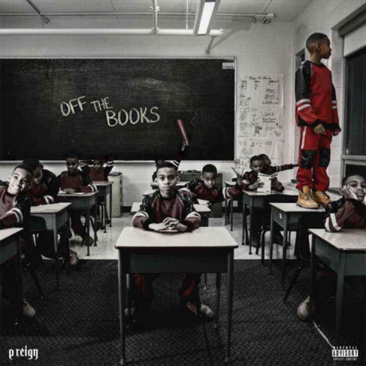 P Reign 'Off the Books' (mixtape)
