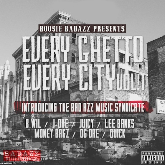 Boosie Badazz 'Every Ghetto, Every City: Vol. 1' (mixtape)