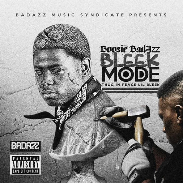 Boosie Badazz 'Bleek Mode (Thug in Peace Lil Bleek)' (mixtape)