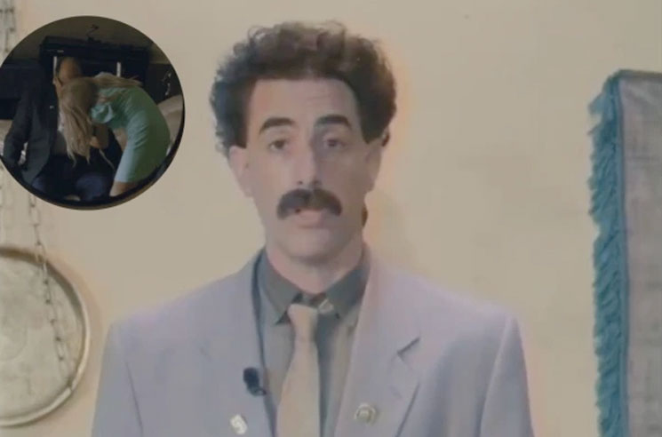 The Full Rudy Giuliani Scene From Borat Is Pretty Excruciating