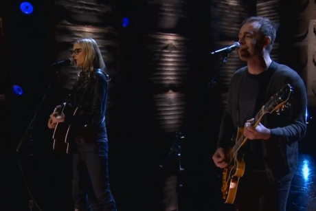 "Aimee Mann ""Labrador"" (ft. Ted Leo) (live on 'Conan')"
