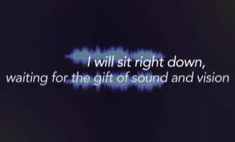 "David Bowie ""Sound and Vision"" (Sonjay Prabhakar remix) (lyric video)"