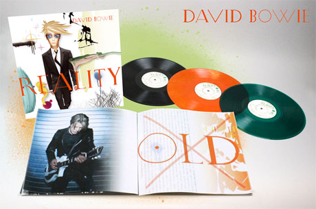 David Bowie's 'Reality' Heads to Vinyl