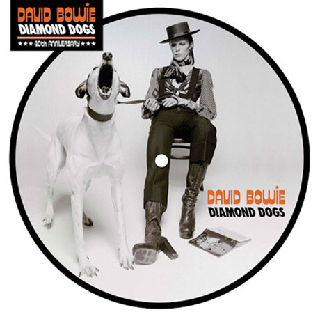"""David Bowie Unveils """"Diamond Dogs"""" Picture Disc"""