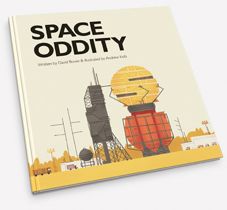 David Bowie's 'Space Oddity' Turned into Children's Book