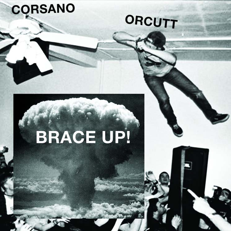Chris Corsano and Bill Orcutt Brace Up!