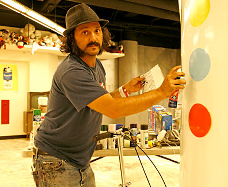 Red Hot Chili Peppers Recruit Street Artist Mr. Brainwash to Promote New Album
