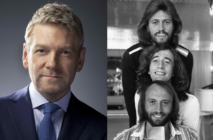 Kenneth Branagh Is Directing a Bee Gees Biopic