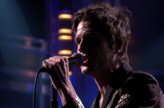 Brandon Flowers 'Can't Deny My Love' (live on 'Fallon')