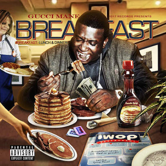 Gucci Mane Releases 'Breakfast,' 'Lunch' and 'Dinner' Album Trilogy