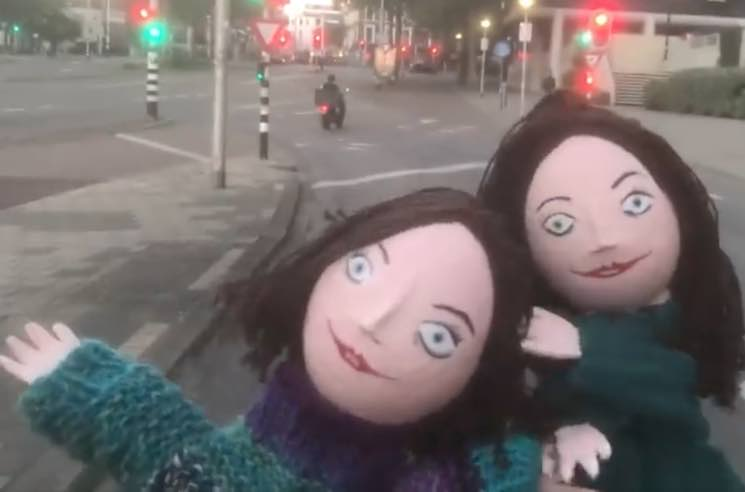 "The Breeders Become Puppets for ""Nervous Mary"" Video"