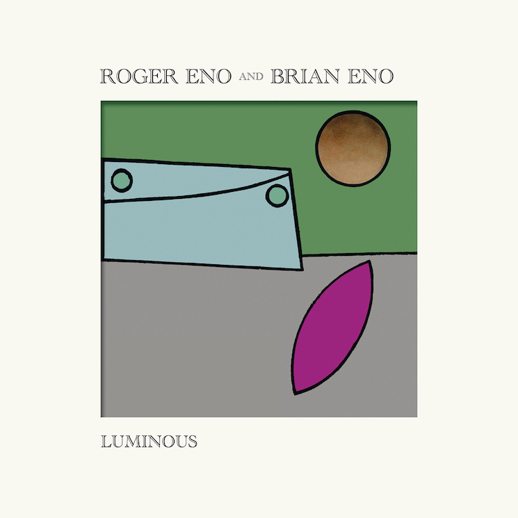 Roger Eno and Brian Eno Follow 'Mixing Colours' with 'Luminous' EP
